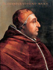 Portrait of Roderick Borgia, Pope Alexander VI