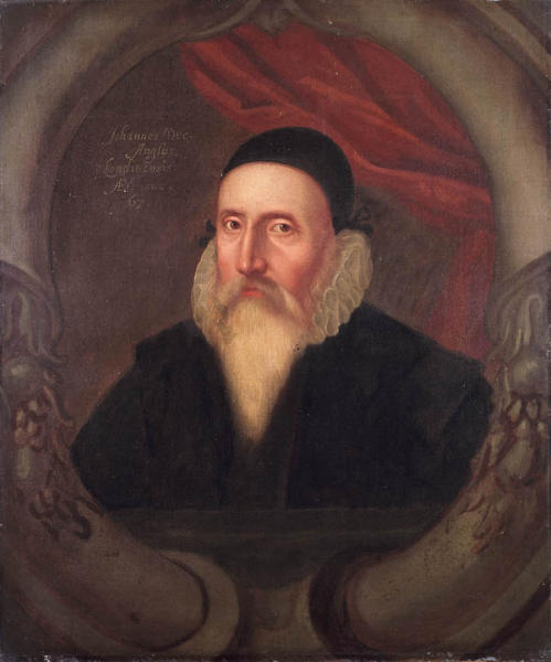 Portrait of John Dee