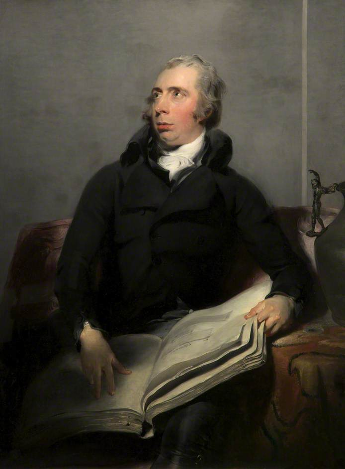 Portrait of Payne Knight by Sir Thomas Lawrence