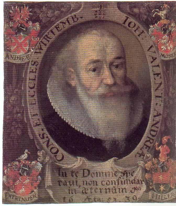 Portrait of Johann Valentin Andreae