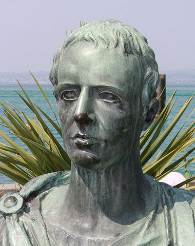 Modern bust of Catullus