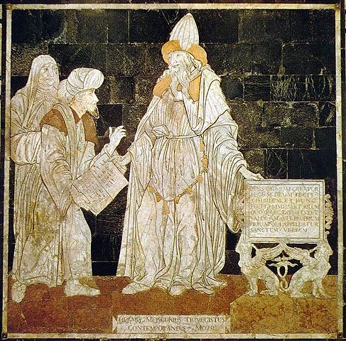 Mosaic of Hermes Trismegistus