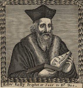 Portrait of Edward Kelley