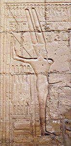 Egyptian god Min
