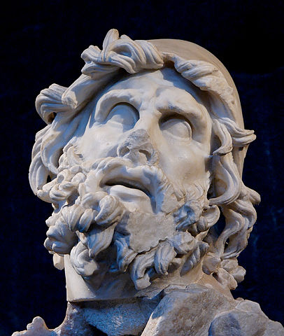 Head of Odysseus from a sculptural group representing Odysseus blinding Polyphemus