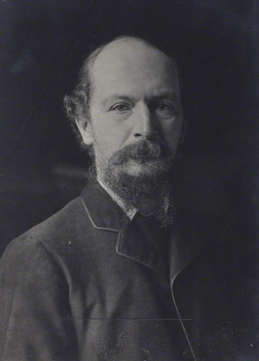 Picture of Algernon Charles Swinburne, 1890's