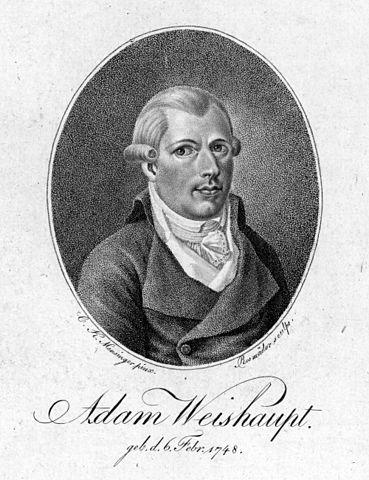 Portrait of Adam Weishaupt